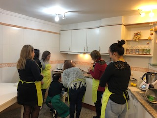Jantar de Natal - Cooking in Group
